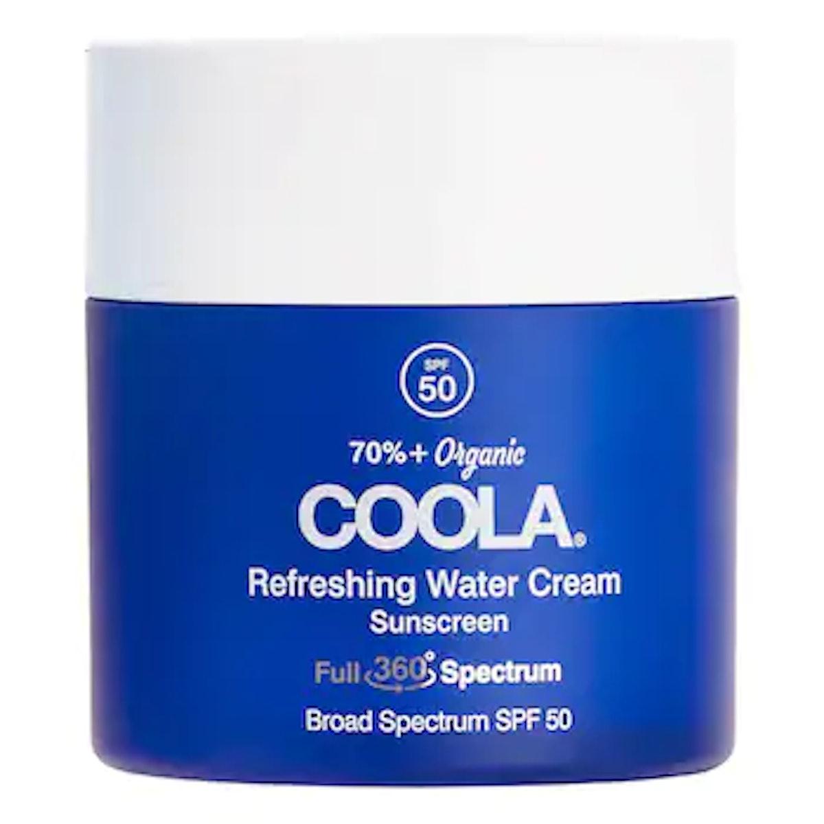 Full Spectrum 360º Refreshing Water Cream Organic Face Sunscreen SPF 50