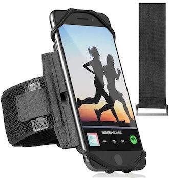 ideas4comfort 360° Rotatable Sports Phone Armband