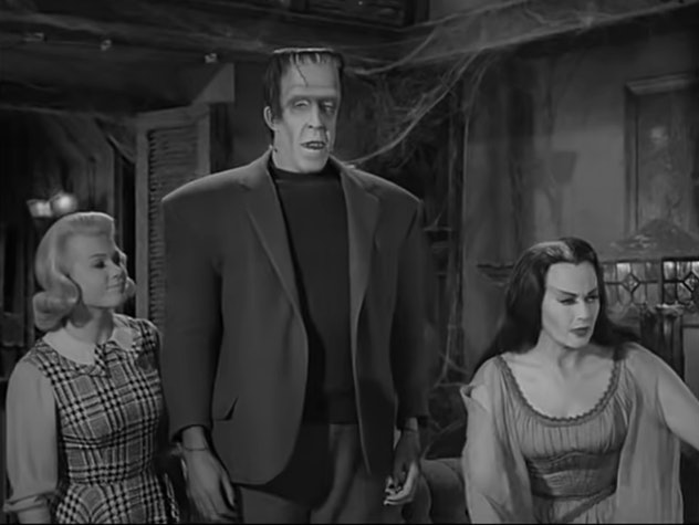 'The Munsters' premiered on CBS in 1964.