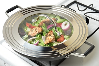 Modern Innovations Stainless Steel Universal Lid