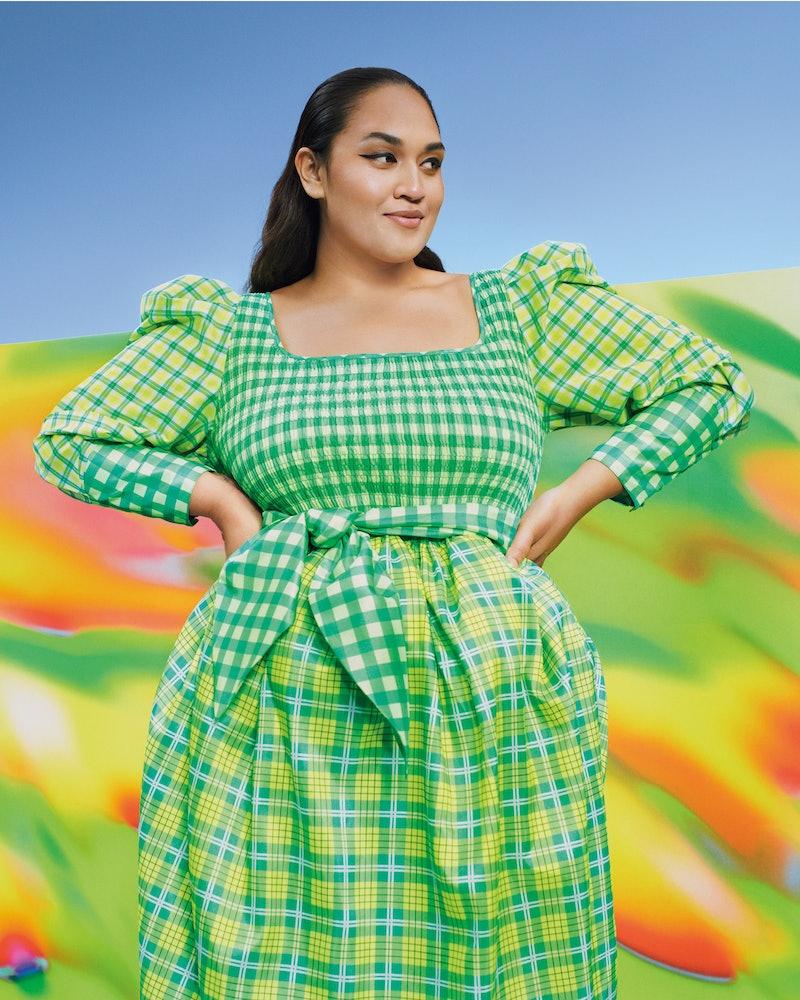 Model in Target's Spring 2021 Designer Dress Collection.