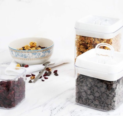 Stackable BPA-Free Storage Containers