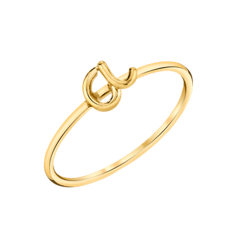 Handmade Letter Ring
