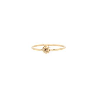 14K Itty Bitty Flower Ring