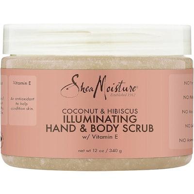 Shea Butter Coconut & Hibiscus Hand & Body Scrub