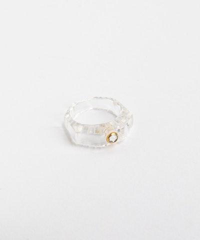 Shining Star Crystal Ring