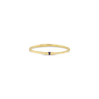 Sapphire Whisper Ring