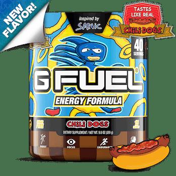 A Sanic Hegehog meme-ified energy drink.
