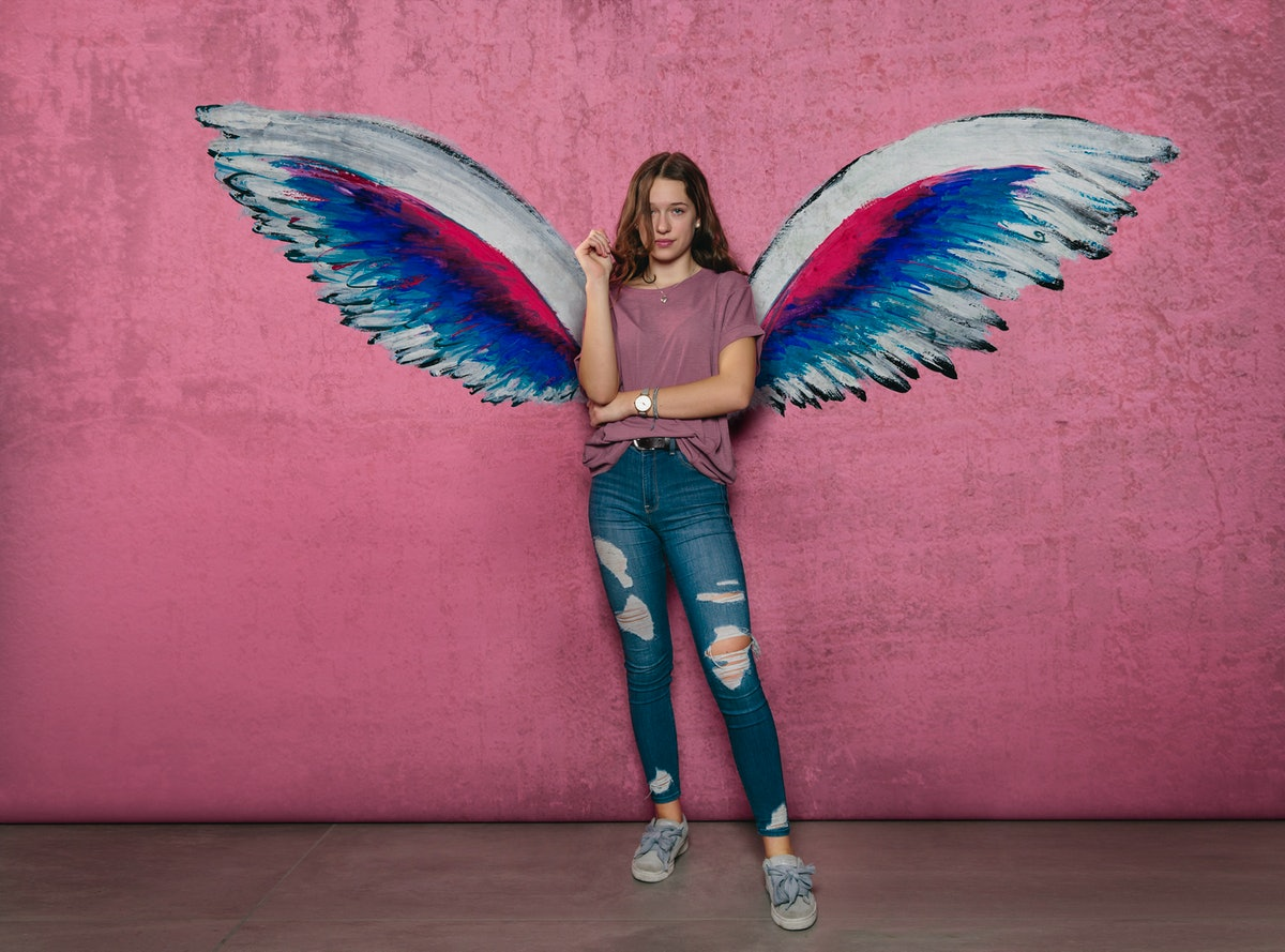 Mythical Creature: Girl With Wings