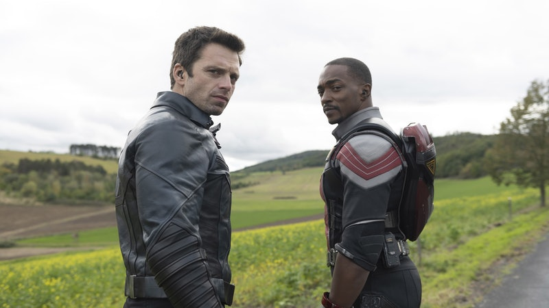 Sam and Bucky are up against a mysterious threat on 'The Falcon & The Winter Soldier.' Photo via Marvel
