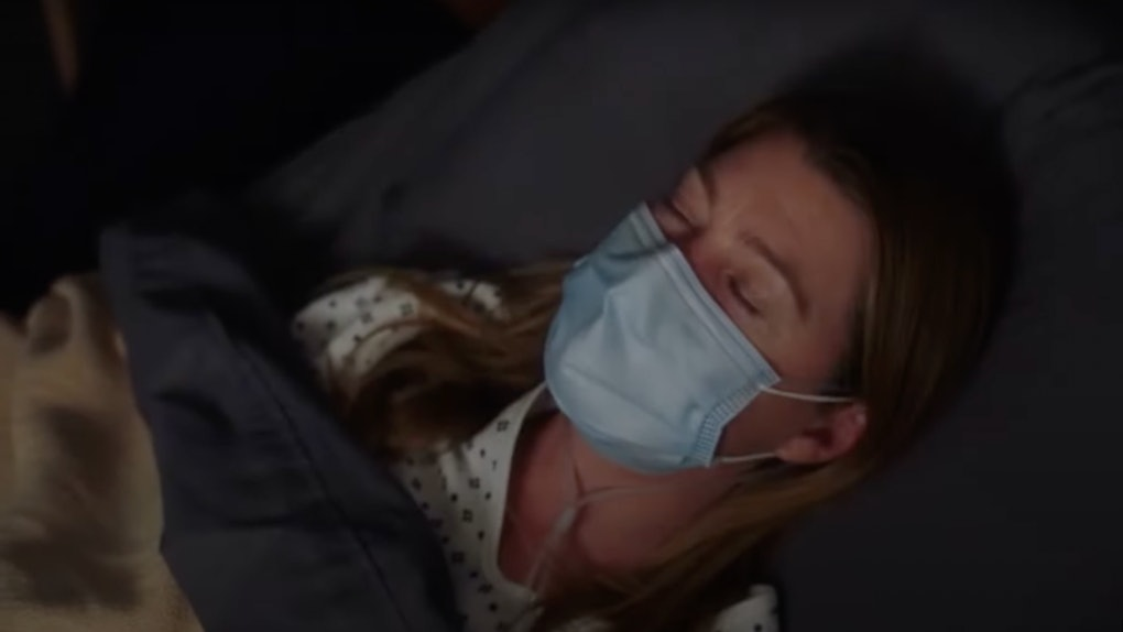 Meredith appears in the Grey's Anatomy season 17, episode 11 promo clip.