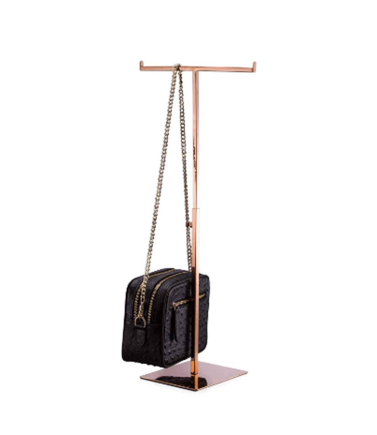 Polmart Countertop Adjustable T-Shaped Handbag Purse Display