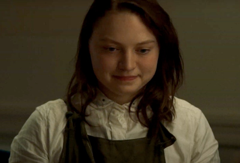 Mia Threapleton, Kate Winslet's daughter, in 'Shadows'