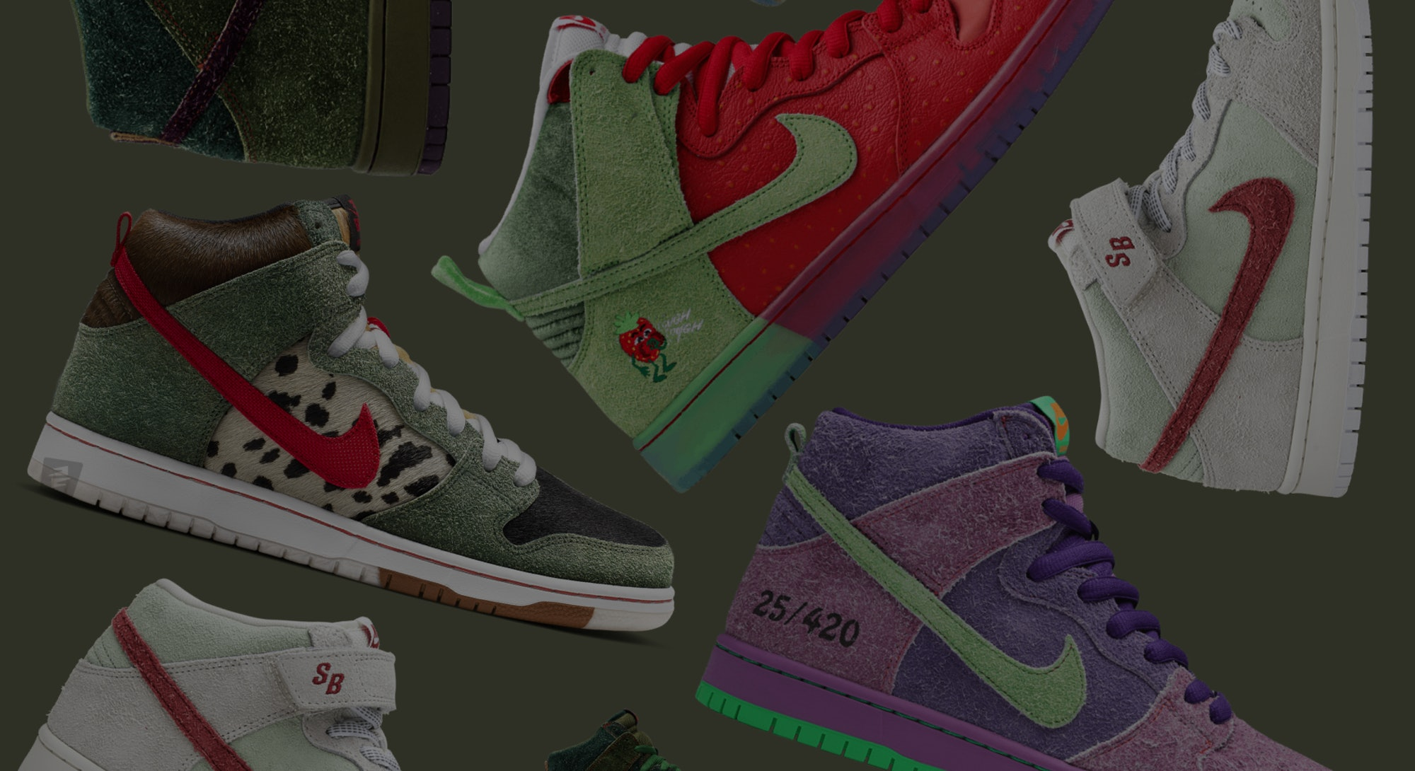 Nike SB 4/20 Dunks