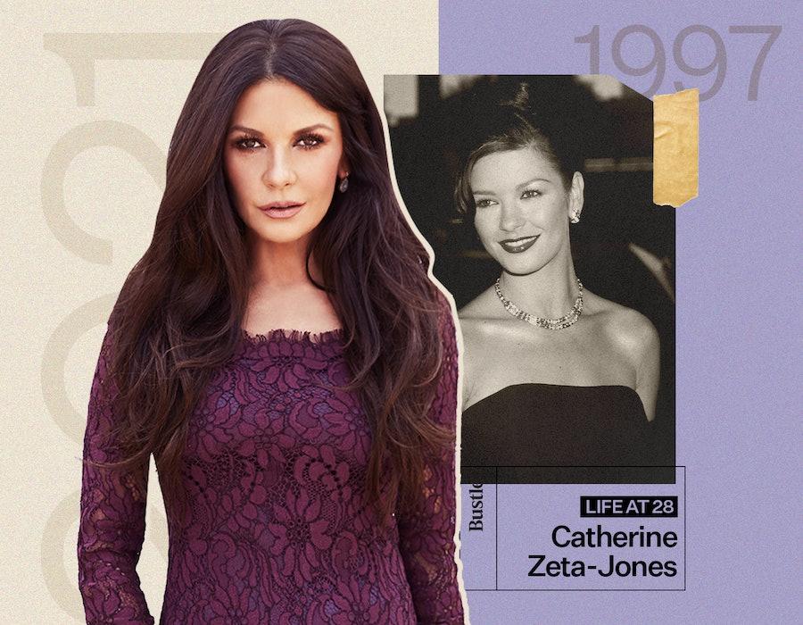 Catherine Zeta-Jones met her husband Michael Douglas at 28.