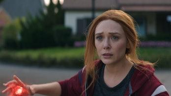 Elizabeth Olsen in WandaVision.