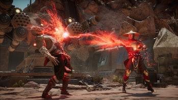 mortal kombat 11 nintendo switch battle violent