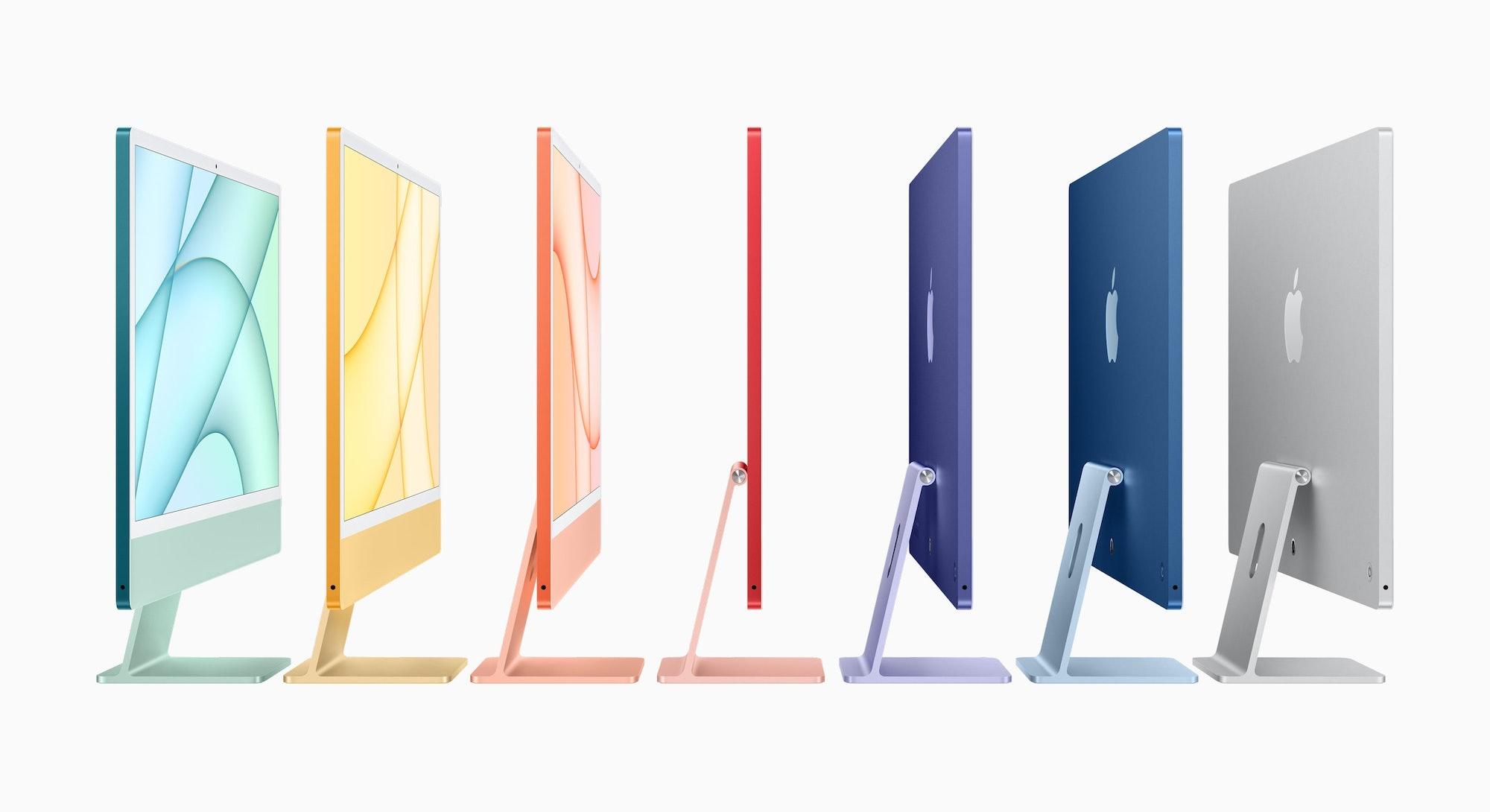 Apple's newest iMacs. Computers. Apple. Mac. Mac OS. Hardware. Computers.