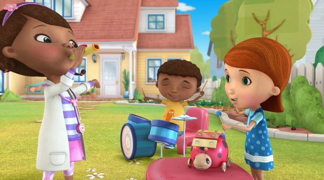 'Doc McStuffins' is about a little girl who serves as a doctor to her toys when they come to life.