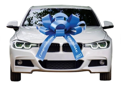 BowsforCars Graduation Car Bow