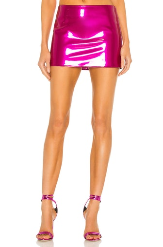 Low Slung Mini Skirt
