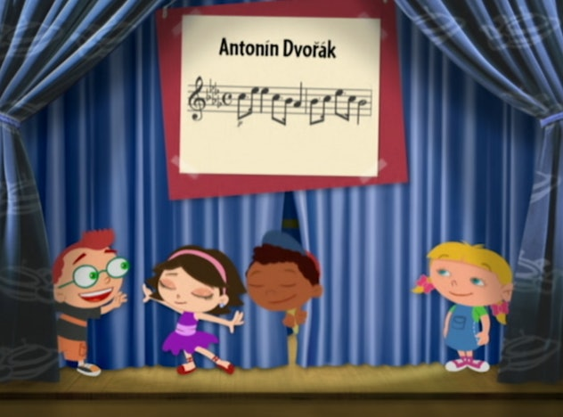 'Little Einsteins' is an animated series based on the Baby Einstein franchise.
