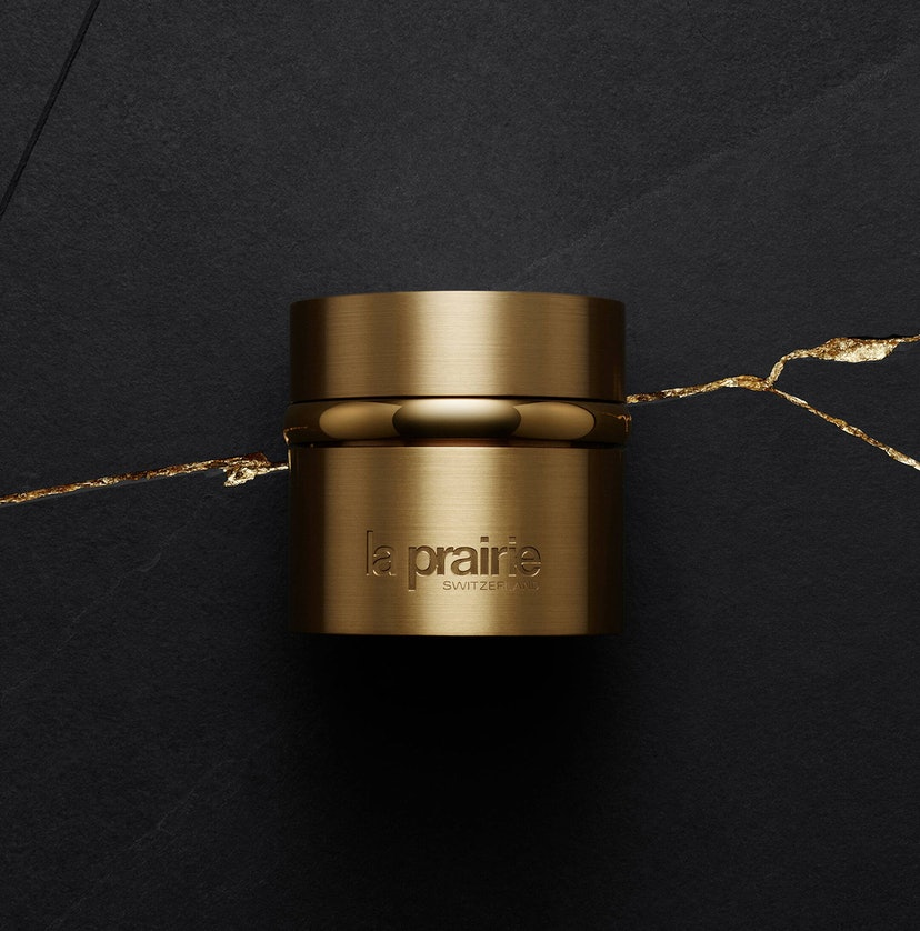Moisturizer from La Prairie's new Pure Gold collection.