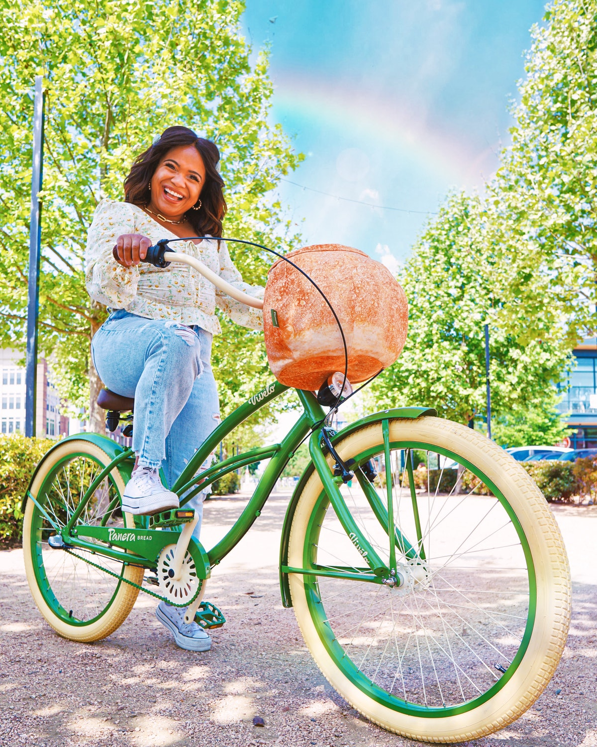 Here's how to enter Panera's Bread Bowl Bike sweepstakes.