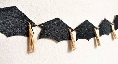 InvitingDesignStudio Cap And Tassle Banner