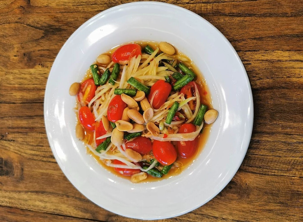 Learn to make Pad Thai and Som Tum in a private online class!