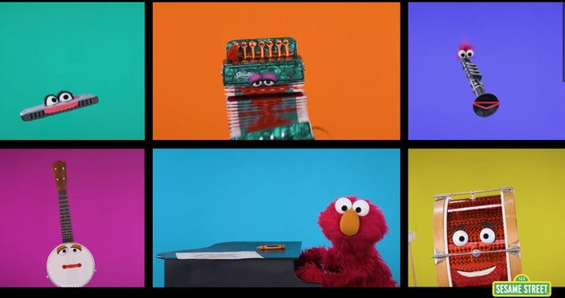 'Sesame Street' has been encouraging music education since it premiered in 1969.