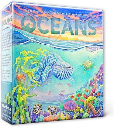 Board game design for Evolution: Oceans