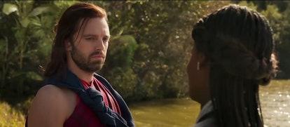 Sebastian Stan made a surprise post-credits cameo in 'Black Panther.' Screenshot via Marvel