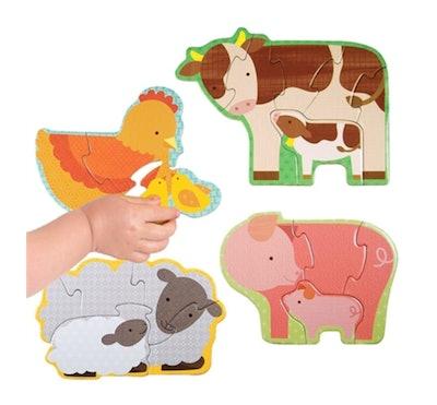 Farm Babies Wooden Puzzle