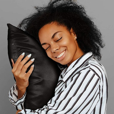 SHOPBEDDING Luxury Satin Pillowcase w/ Hidden Zipper