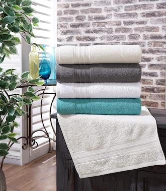 Hammam Linen 100% Cotton Towels (Set of 3)