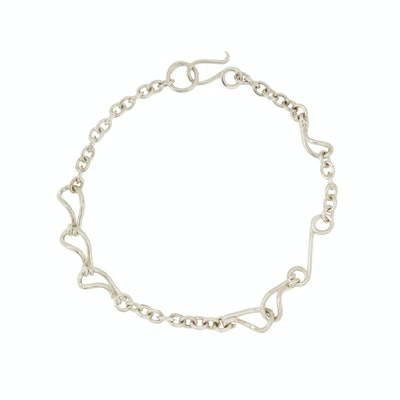 Sapir Bachar Paisley S-hook necklace
