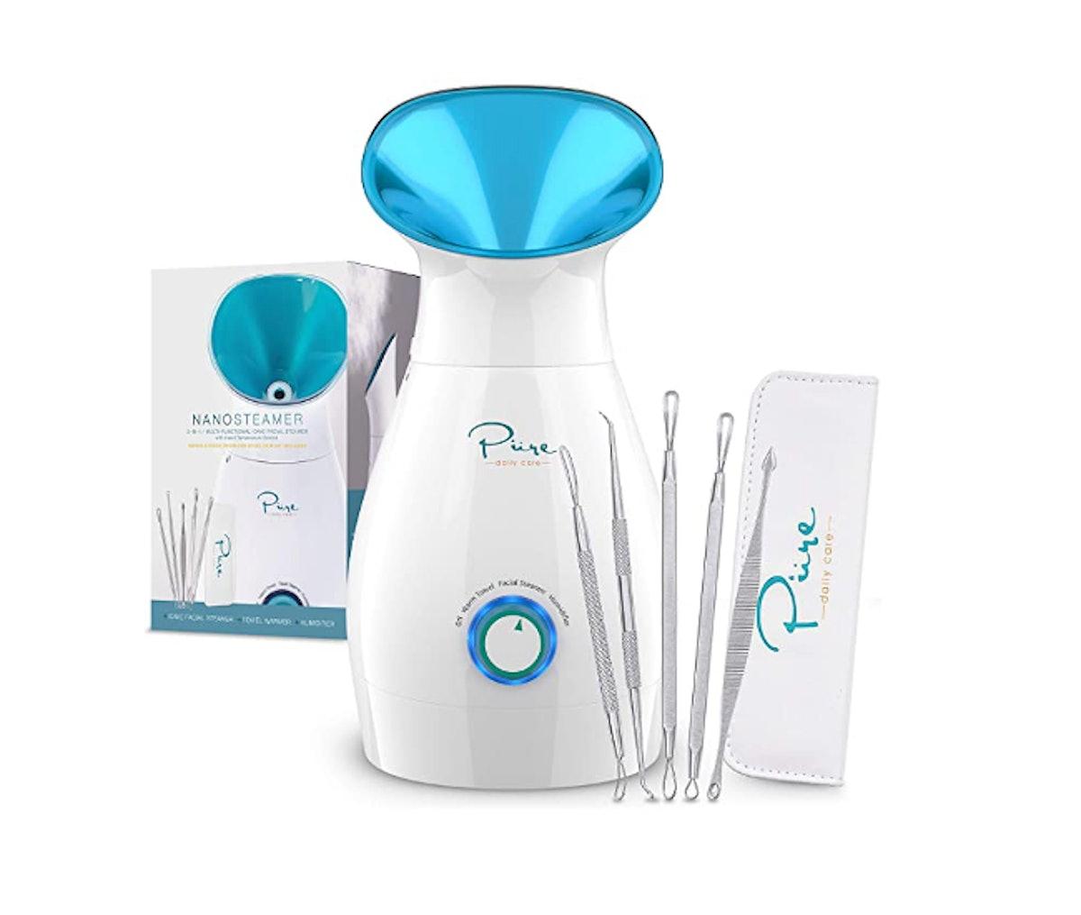Pure Daily Care 3-in-1 Nano Ionic Facial Steamer