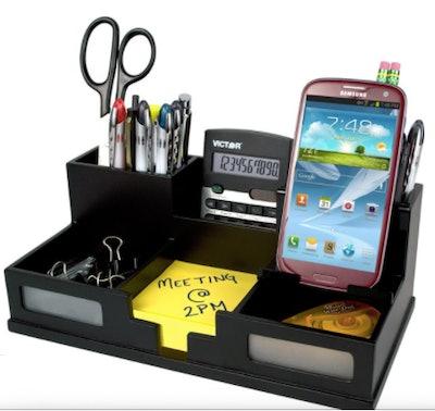 Desk Organizer with Smart Phone Holder