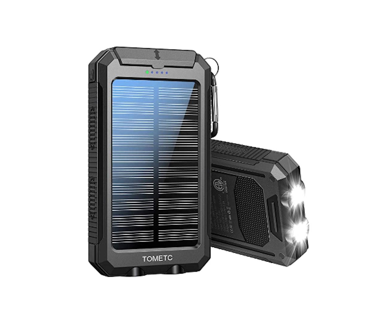 TOMETC Solar Power Bank