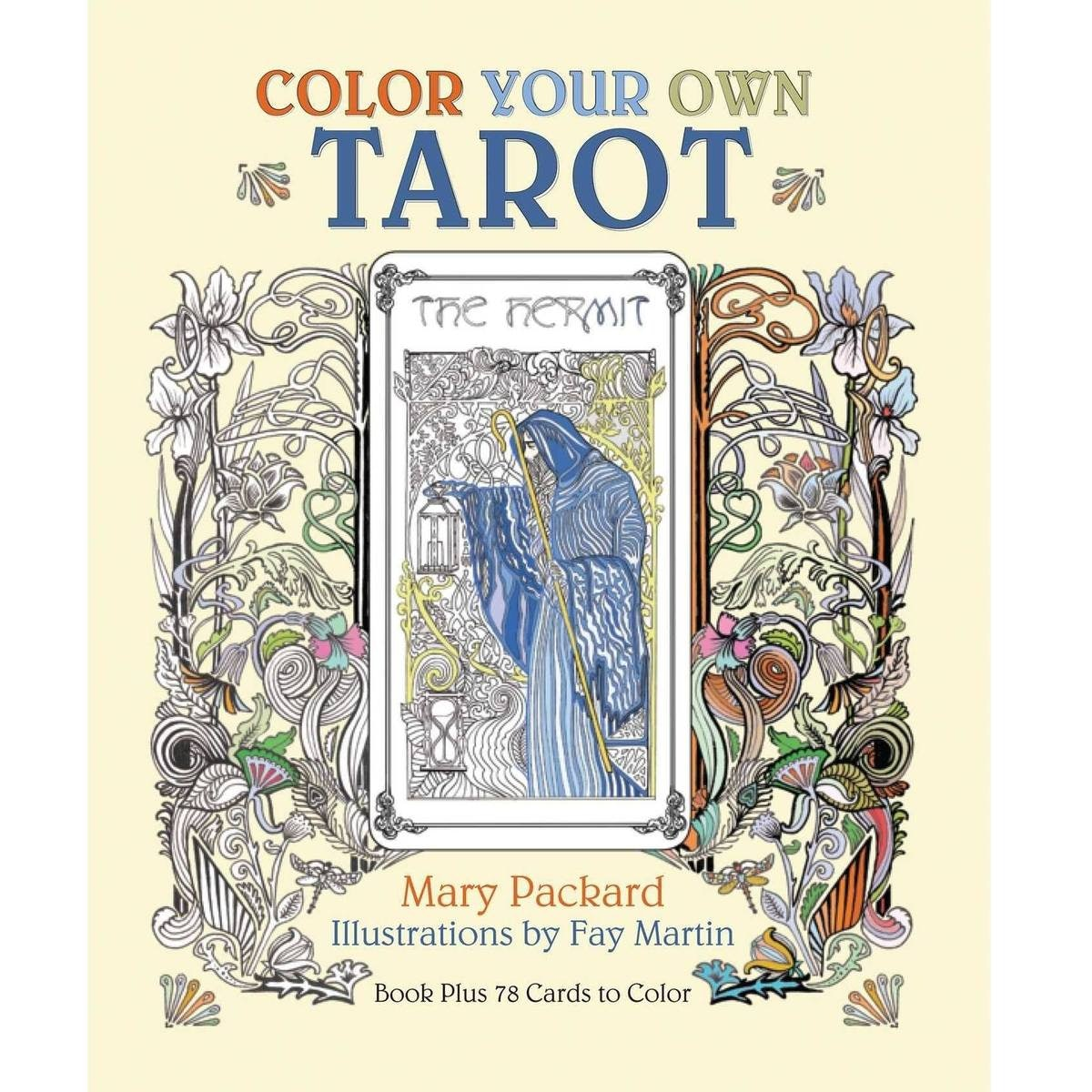 Color Your Own Tarot Book