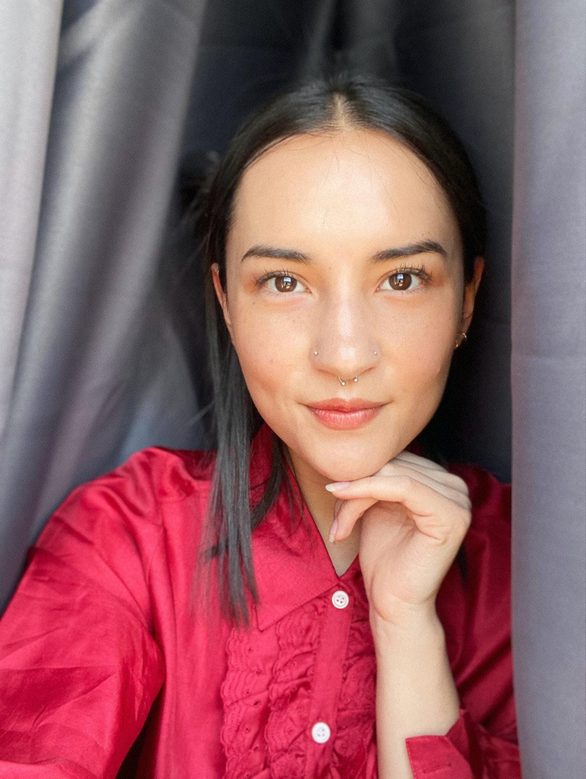 Jessie Mei Li self portrait