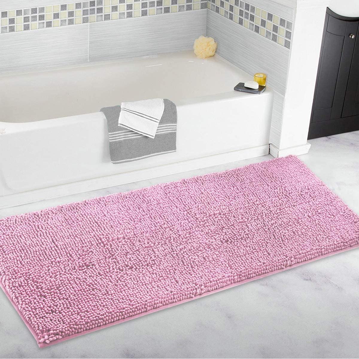 Mayshine  Luxury Chenille Bath Rug
