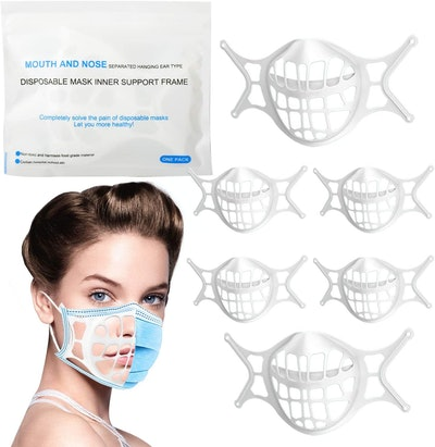AYGXU  3D Silicone Face Mask Bracket