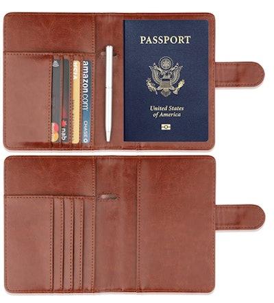 GDTK Leather Passport Holder