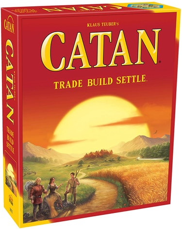 Board game design for Settlers of Catan
