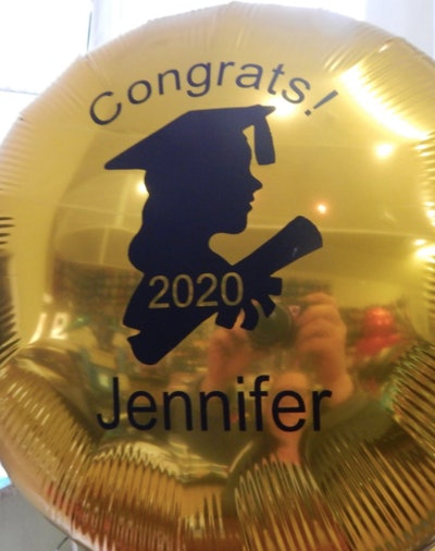 PartyStarterPicks Personalized Graduation Balloon