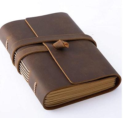 Hotcinfin Leather Journal Writing Notebook
