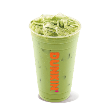 The caffeine in Dunkin's Green Tea versus matcha feature a big difference.