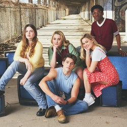 The cast of Cruel Summer via the Freeform press site